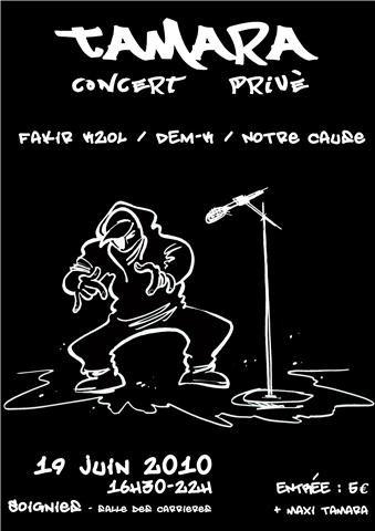 concert tamara