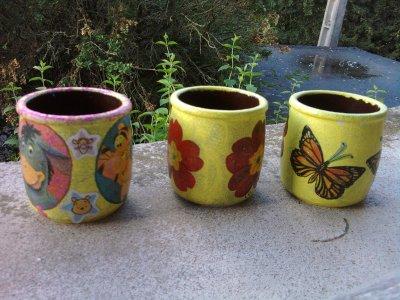 Petits pots à crayons