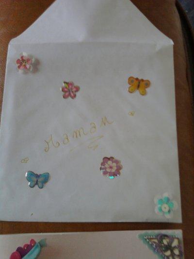 Une jolie tite carte fait avec amour pour ma maman