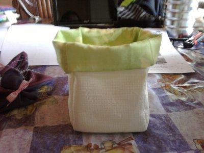 Mon 1er Pot en tissu