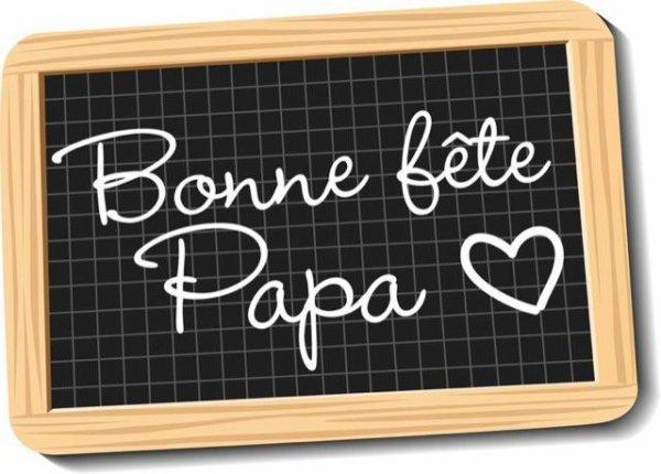Bonne fête à tous les papas
