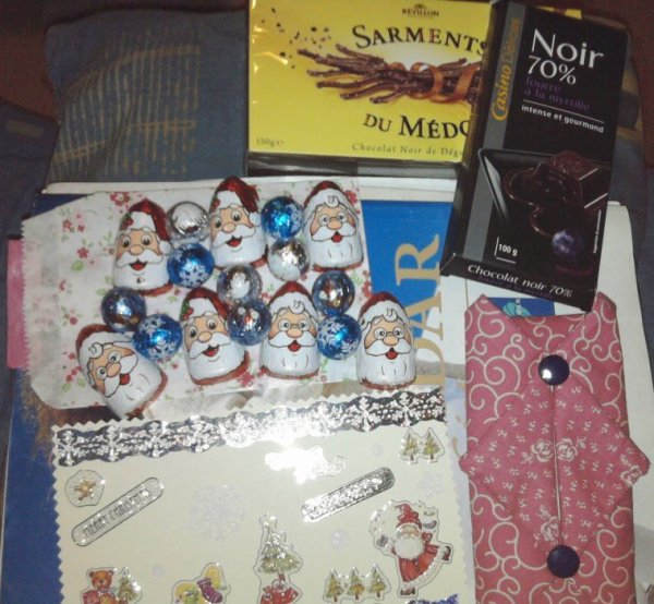 Echange Chocolat Noël