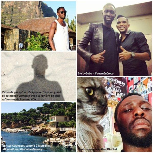 • Photos personnelles postées sur Instagram par Thomas.