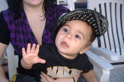 Mon fils Nicholas