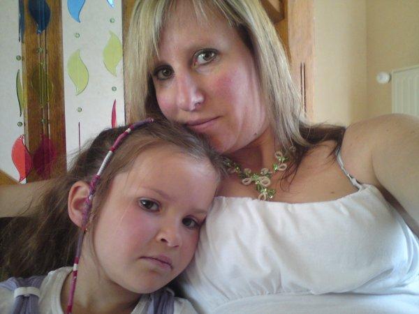 moi et ma petite fille