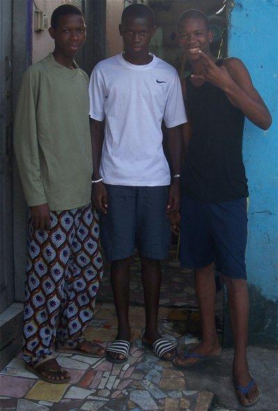 les trois mousquetais
