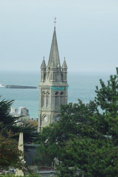 """Eglise """"d'Arromanches"""""""