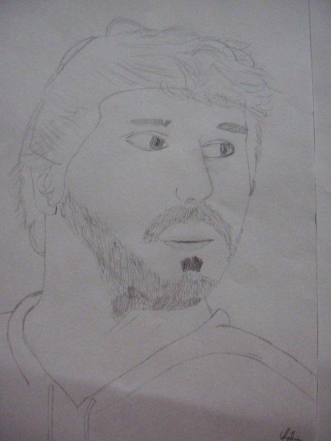 Mon dessin avec le modèle