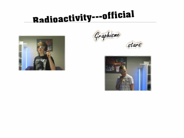 Voici le blog music officiel du groupe Radioactivity !!. Page officiel facebook / Notre site  /  Myspace  / Fans