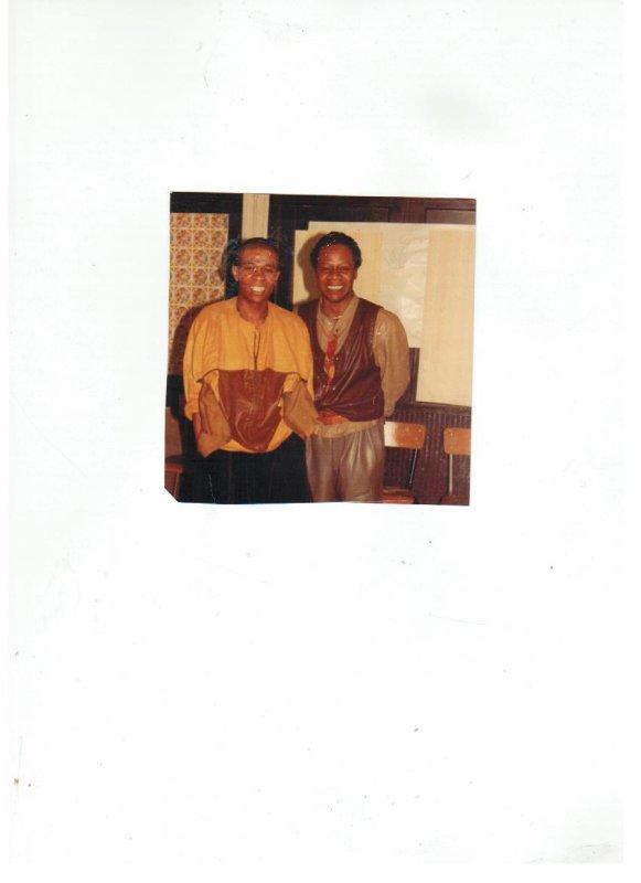 MODOGO GIAN FRANCO FERRE et PAPA WEMBA 1984 A PARIS