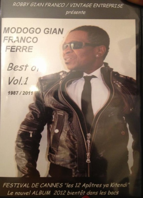 MODOGO GIAN FRANCO FERRE BEST OF DVD DEJA EN VENTE