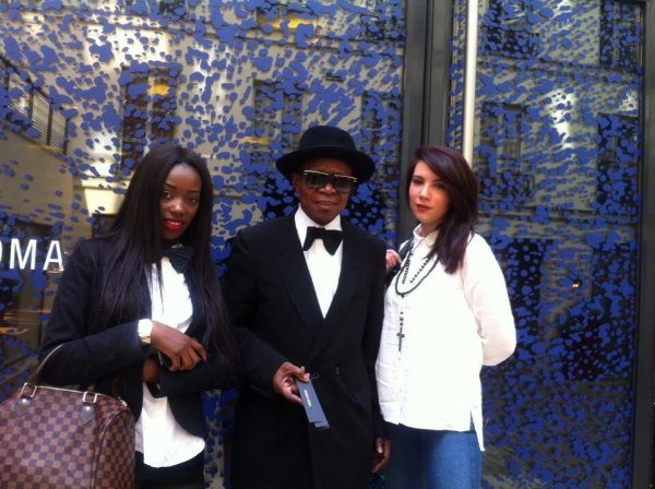"Modogo ""Gian franco ferre Carrerra Mfumu Mputu"" tournage CLIP CHANSON ""CENTO PER CENTO DONNA"""