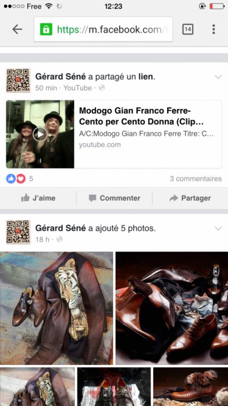 Gerard Sene grand bottier francais , l ' habilleur des stars  valide Modogo Gian Franco Ferre  FESTIVAL DE CANNES CENTO PER CENTO MODA
