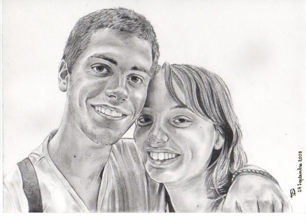 Jérémie et sa copine