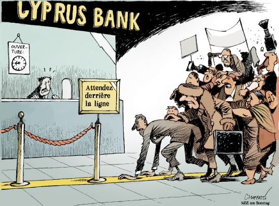 Chypre, quand l'Europe se tire une balle dans le pied.