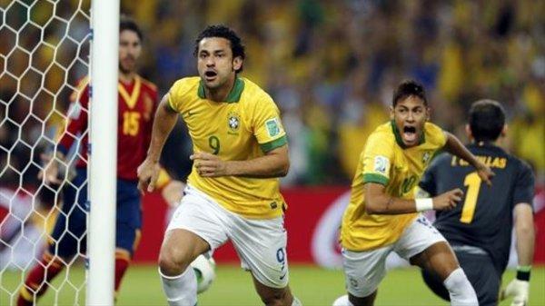 FINALE ESPAGNE8BRESIL  3-0 POUR LE BRESIL