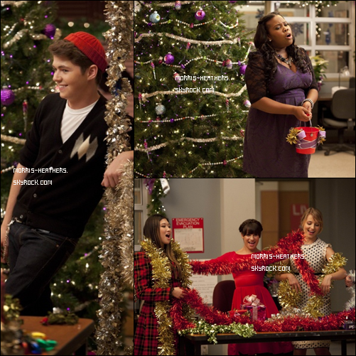 Les stills de l' »Extraordinary Merry Christmas » !