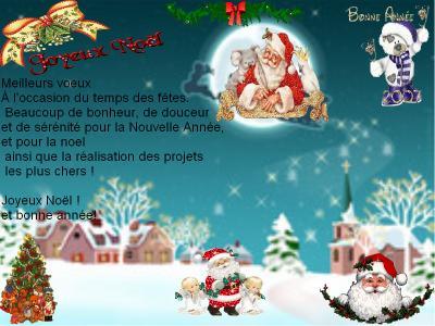 Pour Noel Et Nouvel An Moi Ma Famille Mes Amie Et Des Poeme
