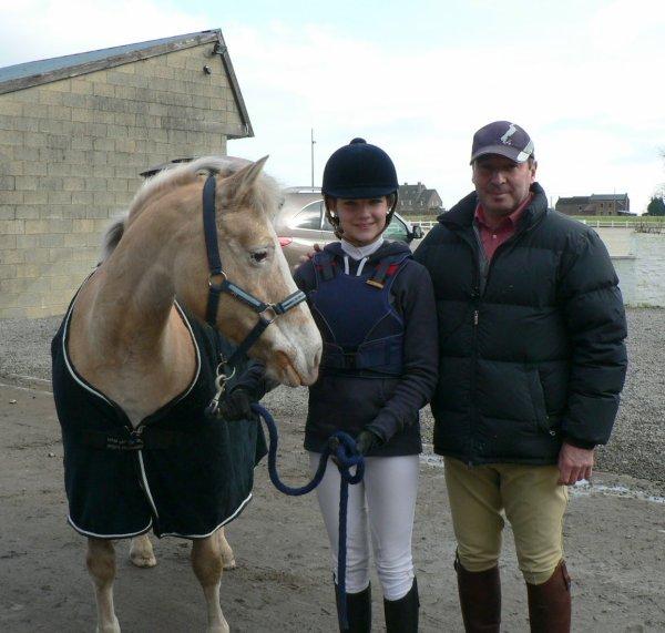 Stage Louise & Vanille avec notre champion du monde ! - samedi 28 janvier 2012