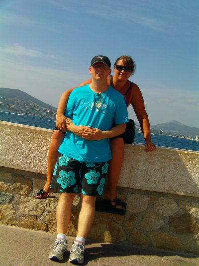 moi et mon homme en vacances!!!