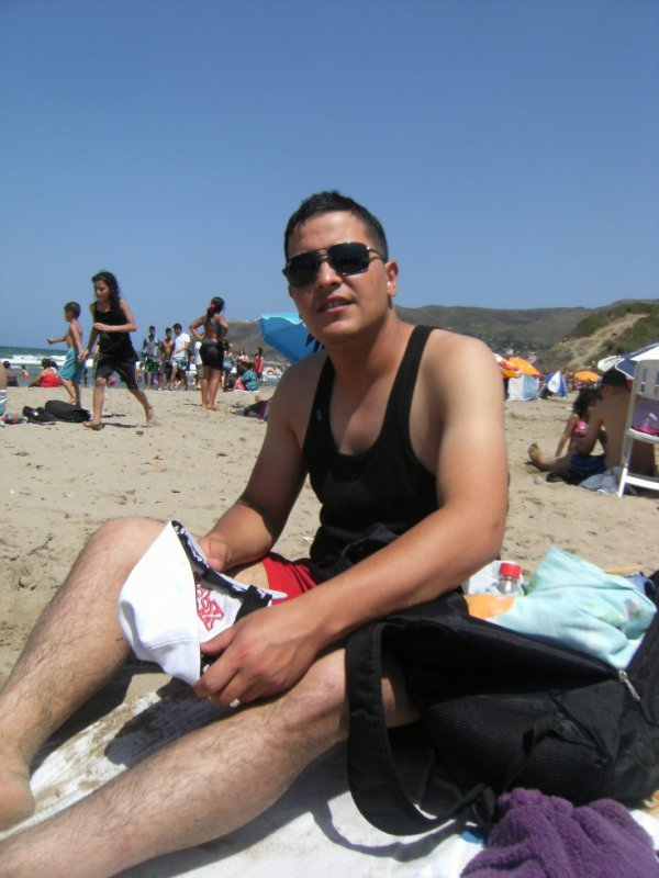 moi a la plage petit paradis