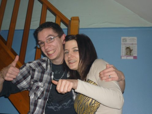 Mon pote et moi :)