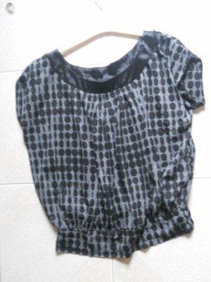 tee-shirt loose noir et gris