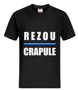 "Tee shirt "" Rezou - Crapule / 31 rafales "" ~  ( Disponible ! )"
