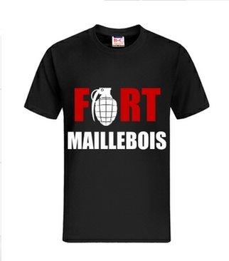 """Tee shirt """" Fort Maillebois """" ~ ( Disponible ! )"""