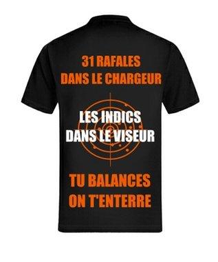 "Tee shirt "" Brigade Anti Poucave "" ~  ( Disponible ! )"