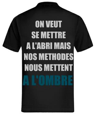 """Tee shirt """" Crapule-Rezou/ Commission Rogatoire """" ~  ( Disponible ! )"""
