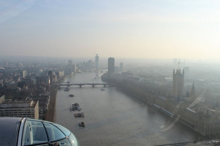 A look from the London Eye