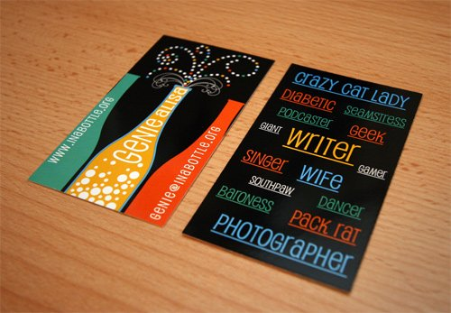 Business Card Design company in West Yorkshire