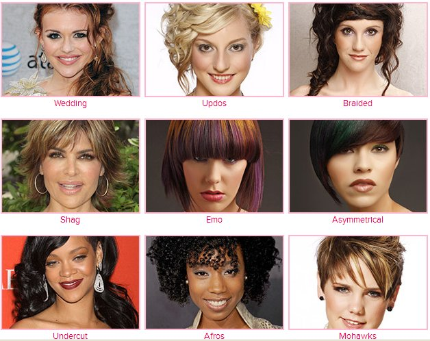 2013 Hair Style Trendsetters