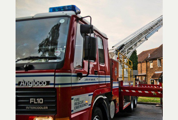 House Made Safe by Firefighters as the Loft Conversion Space Catches Fire!