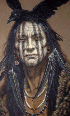 raven crow half man - photo #41