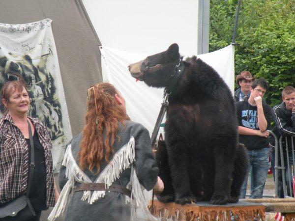 un ours