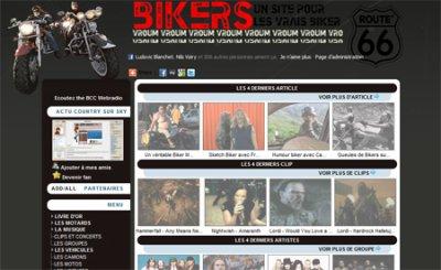 Le site du Bikers c'est quoi ?
