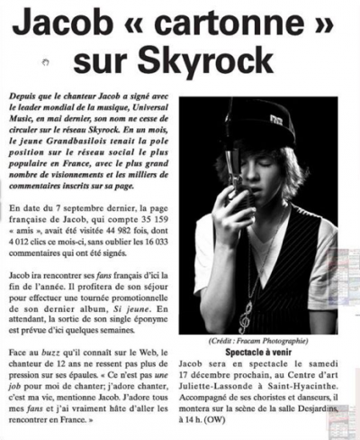 voila un article sur jacob guay ^^