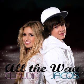 Cover du single ALL THE WAY de Jacob et Claudia Bouvette