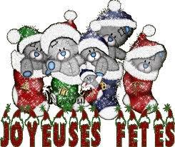 Joyeuses fêtes.