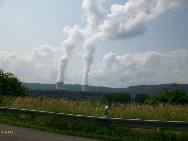 Le centre nucléaire de production d'électricité de CHOOZ.