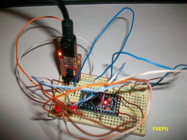 Arduino pro mini.