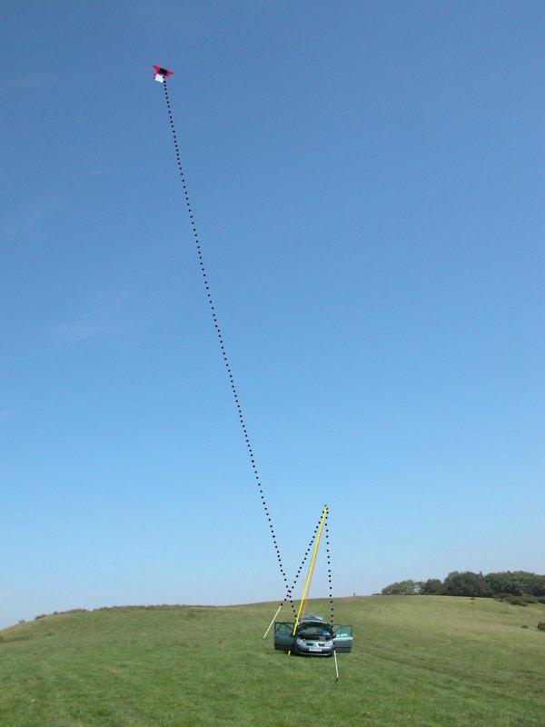 Antenne cerf-volant.