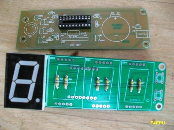 Horloge en kit (DIY clock).
