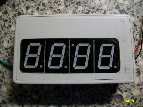 Mise en boite horloge en kit (DIY clock).