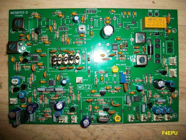 MST 20m : montage de la platine TRX.