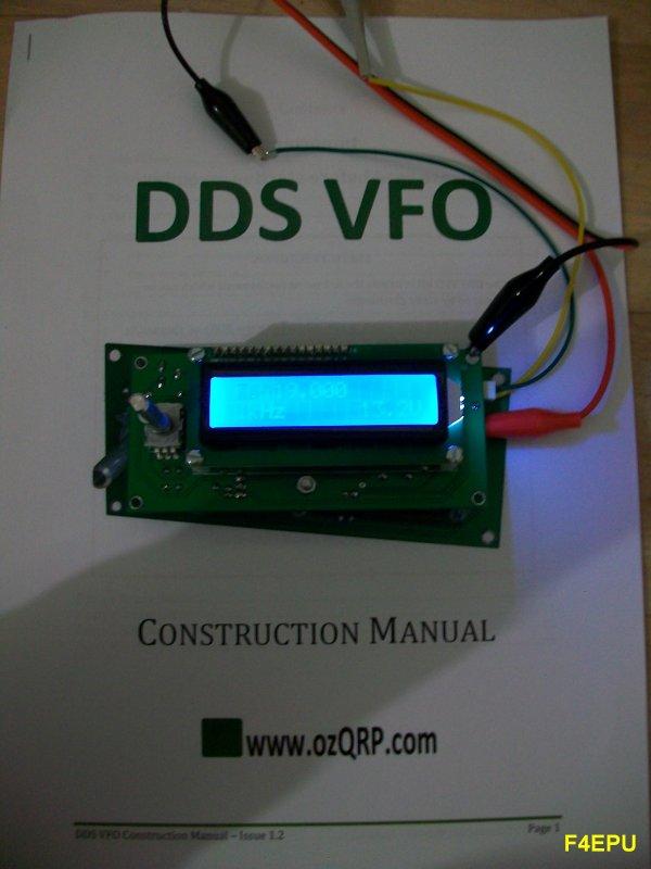DDS MST2 20m : premiers essais du VFO DDS.