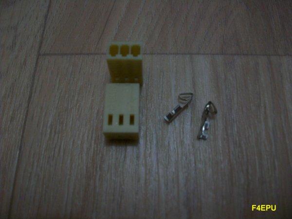 Montage des connecteurs.