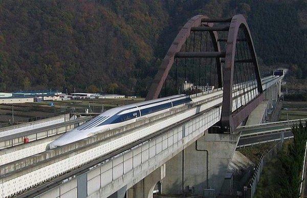 Nouveau record du monde pour le train Japonais à technologie MAGLEV.